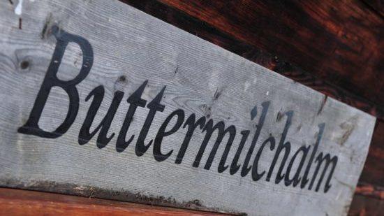 Logo Buttermilchalm 2