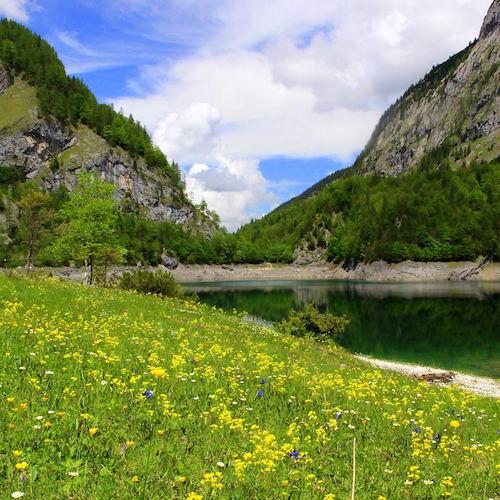 Bergsee am Dachstein